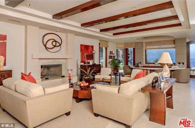 Adele's Malibu Home Interior